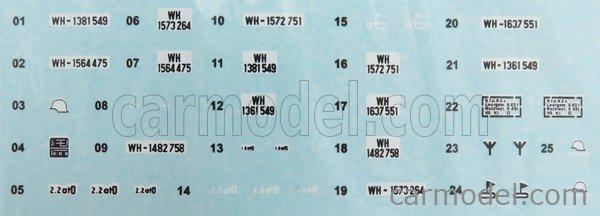 ODEON ODEON062M Scale 1/43  VOLKSWAGEN TYP 166 SCHWIMMWAGEN ANFIBIO 1943 MILITARY GREEN