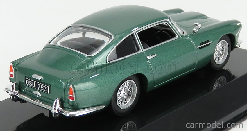 EDICOLA ABSUP079 Масштаб 1/43  ASTON MARTIN DB4 1958 - CON VETRINA - WITH SHOWCASE GREEN