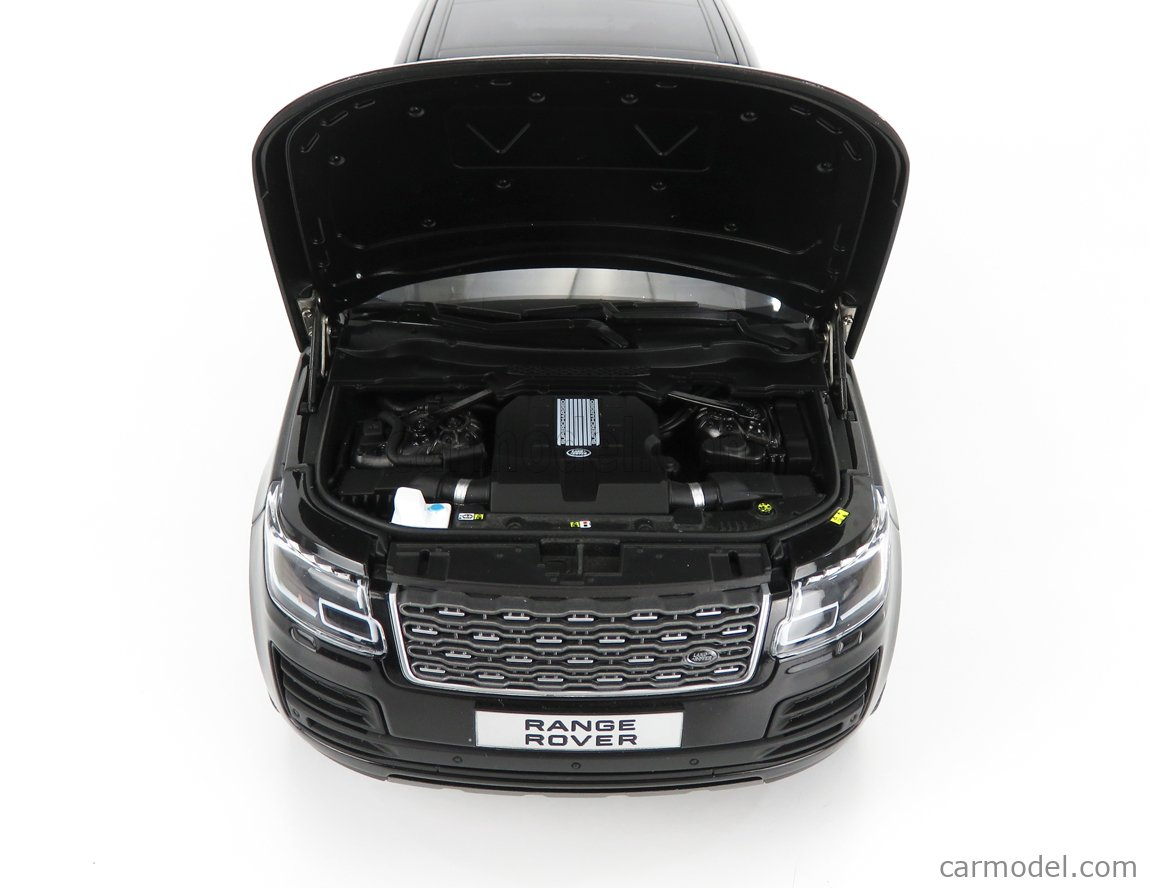 LCD-MODEL LCD18001B-BL Scale 1/18  LAND ROVER RANGE ROVER SV AUTOBIOGRAPHY DYNAMIC 2020 BLACK