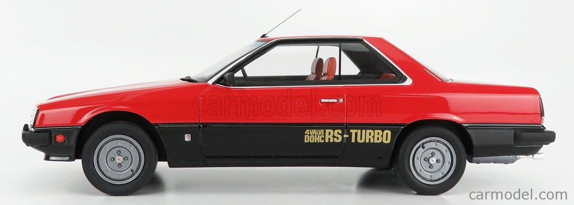 KYOSHO KSR18051R Scale 1/18  NISSAN SKYLINE 2000 TURBO RS (KDR30) 1986 RED