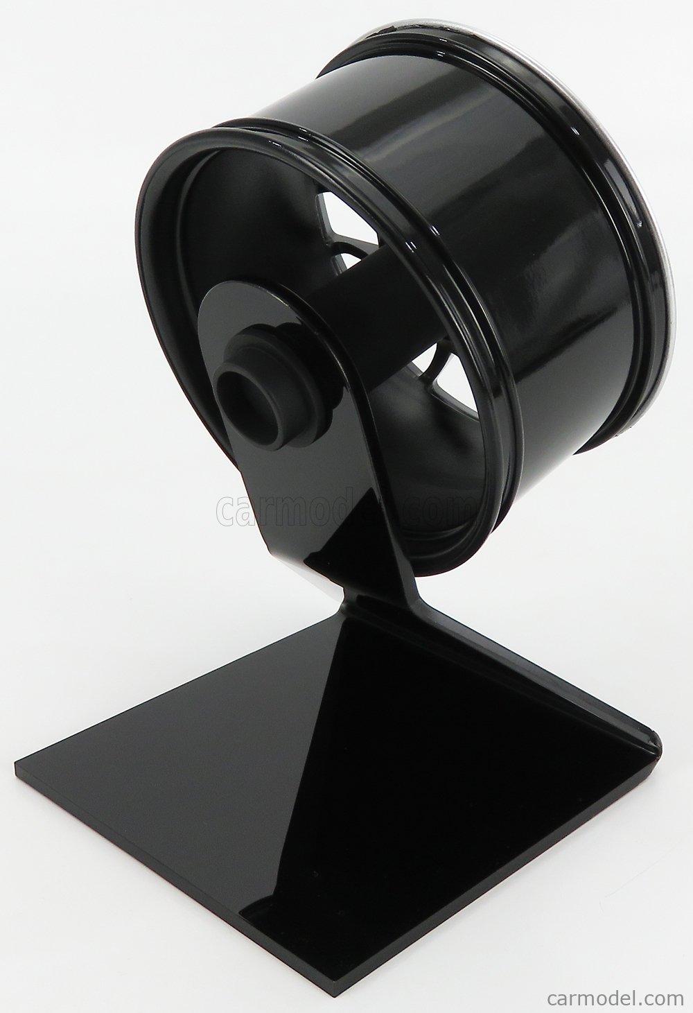 MINICHAMPS 500601998 Scale 1/5  ACCESSORIES PORSCHE 911 997-2 TURBO WHEEL 2010 BLACK SILVER