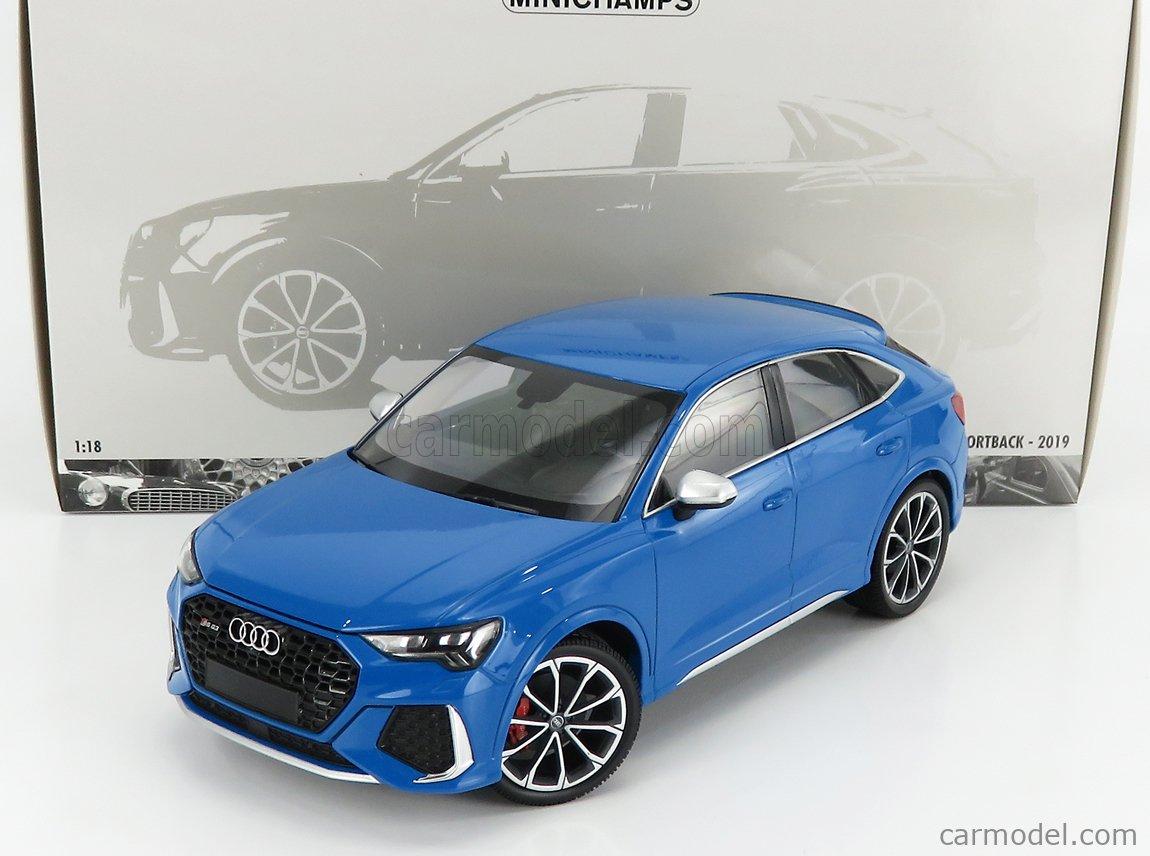 MINICHAMPS 155018101 Scale 1/18  AUDI Q3 RS 2019 BLUE