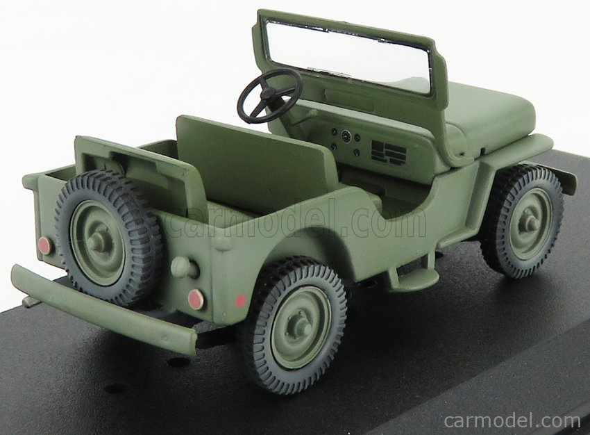GREENLIGHT 86594 Escala 1/43  JEEP WILLYS M38 OPEN 1950 - M-A-S-H MILITARY GREEN