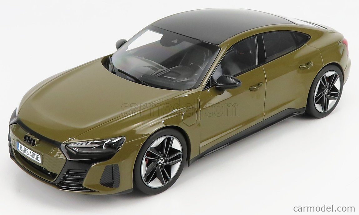 NOREV 188380 Scale 1/18  AUDI GT RS E-TRON 2021 OLIVE MET