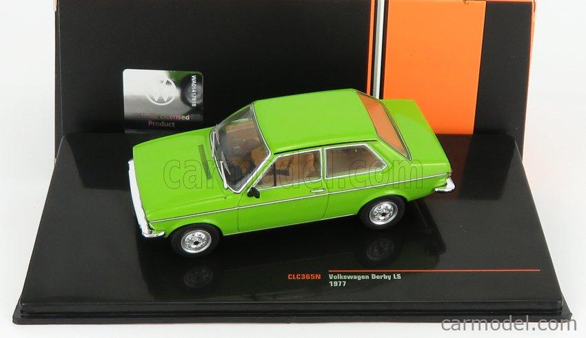 IXO-MODELS CLC365N Scale 1/43  VOLKSWAGEN DERBY LS 1977 GREEN