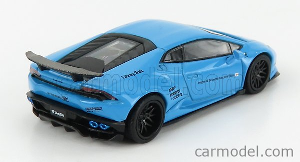 TRUESCALE MGT00189-L Echelle 1/64  LAMBORGHINI HURACAN GT LB WORKS LHD 2017 LIGHT BLUE