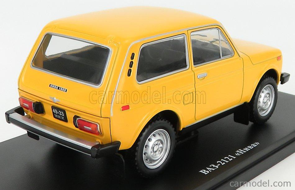EDICOLA ABACAR005 Scale 1/24  LADA NIVA (VAZ 2121) 1977 YELLOW