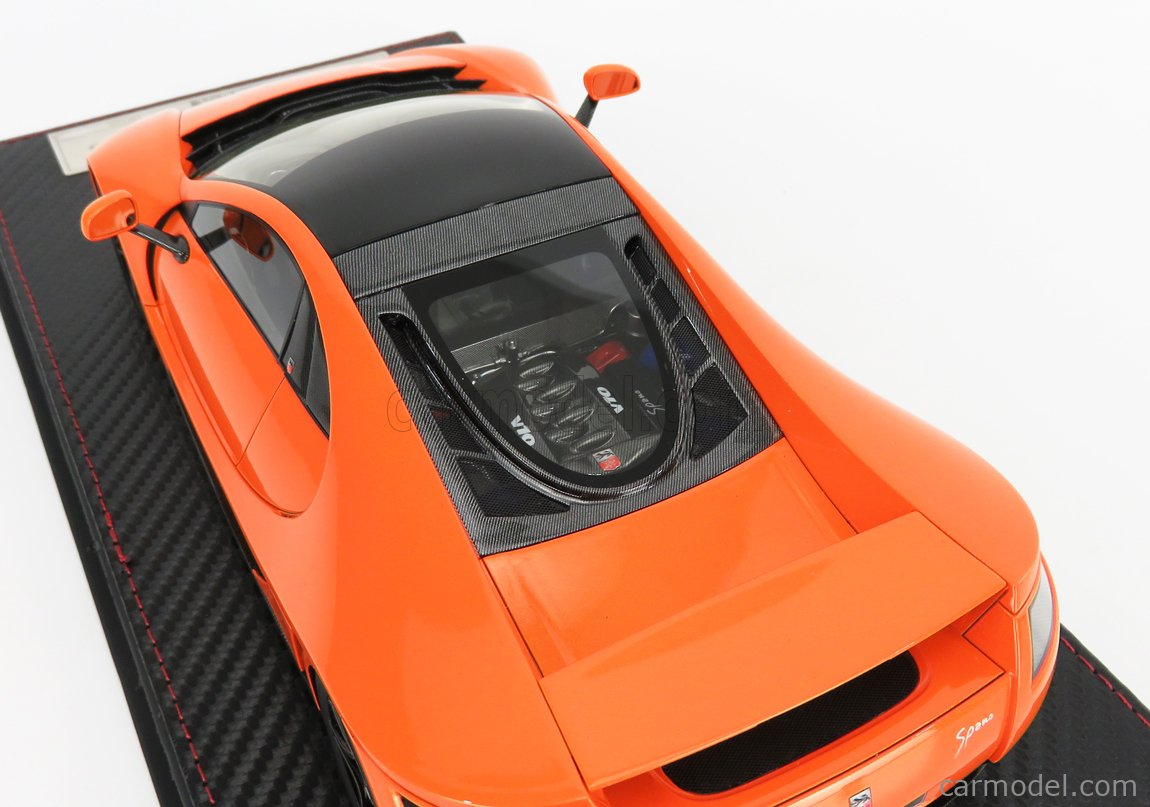 FRONTI-ART F029-34 Echelle 1/18  GTA MOTOR GTA SPANO 2013 ORANGE PEARL MET