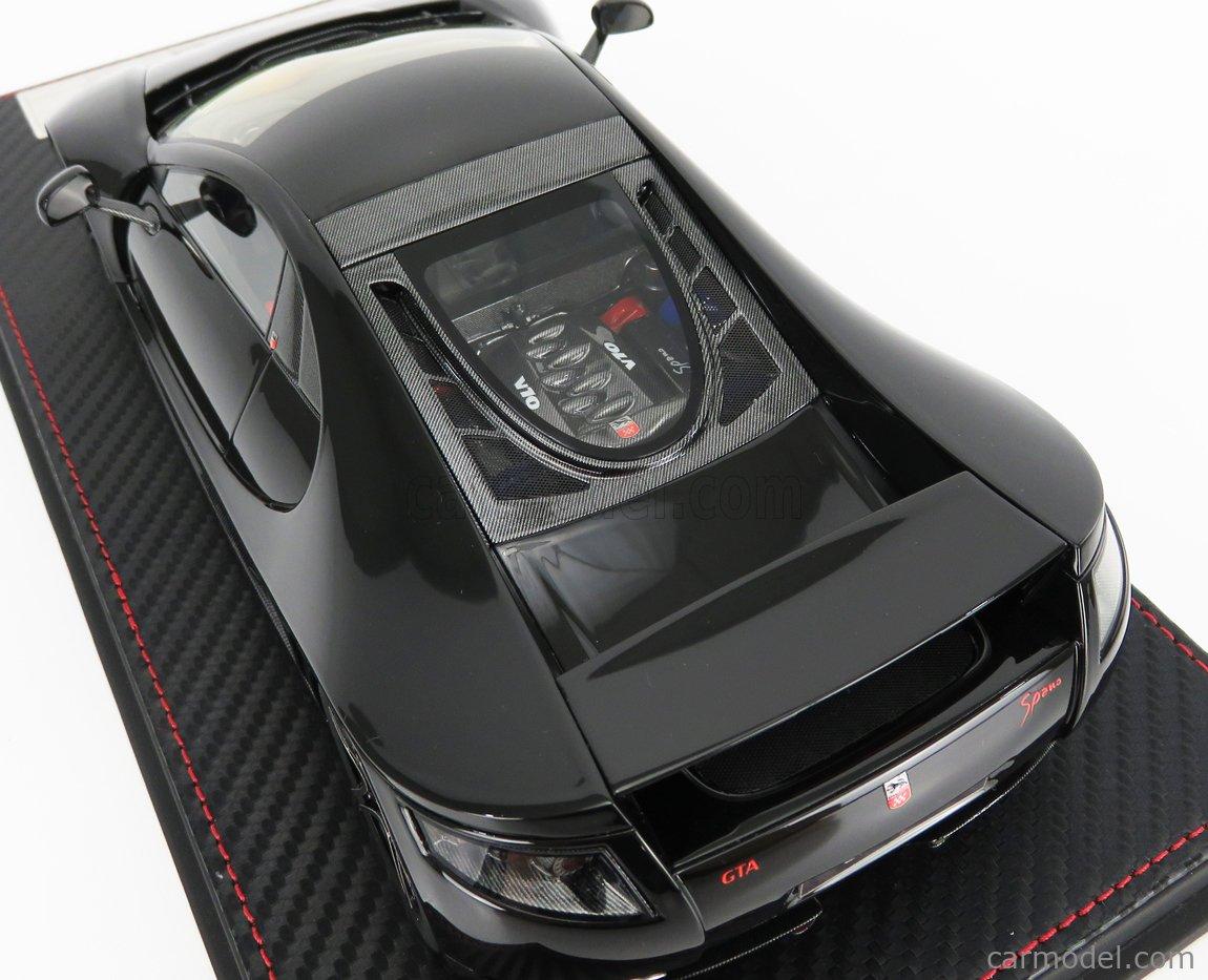 FRONTI-ART F029-04 Scale 1/18  GTA MOTOR GTA SPANO 2013 BLACK