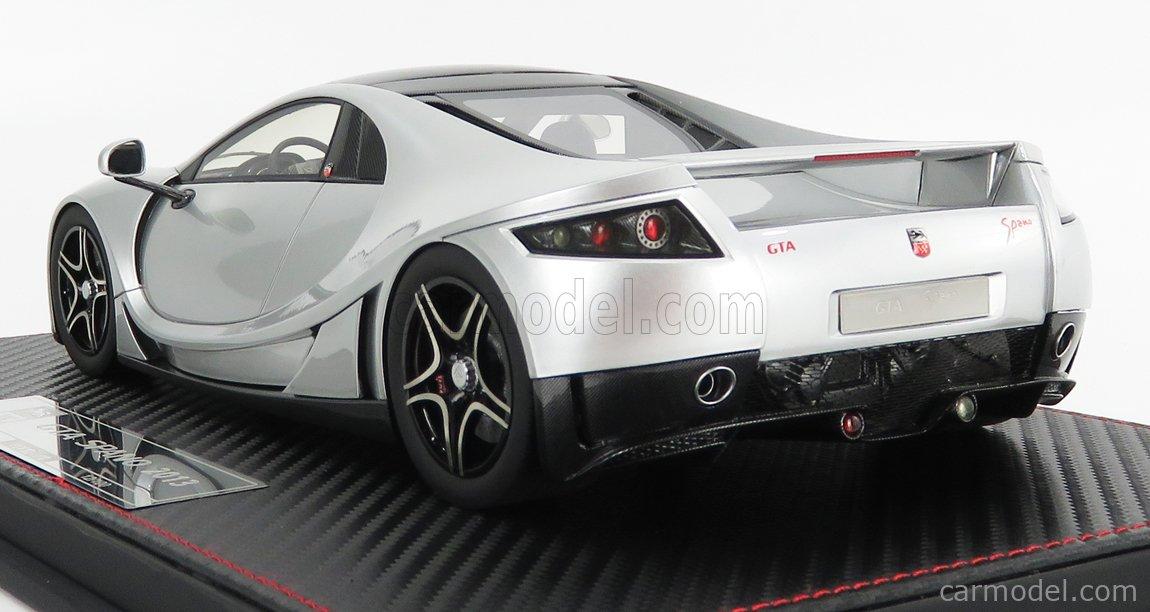 FRONTI-ART F029-01 Masstab: 1/18  GTA MOTOR GTA SPANO 2013 SILVER