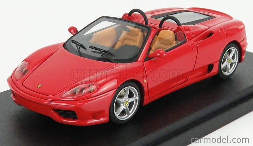 BBR-MODELS BBR136B Масштаб 1/43  FERRARI 360 MODENA SPIDER 2000 RED