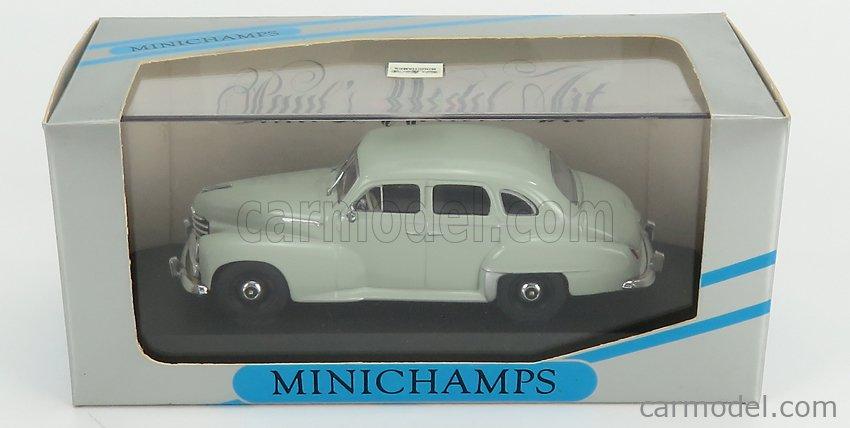 MINICHAMPS 430043302 Echelle 1/43  OPEL KAPITAN 1951 GREY