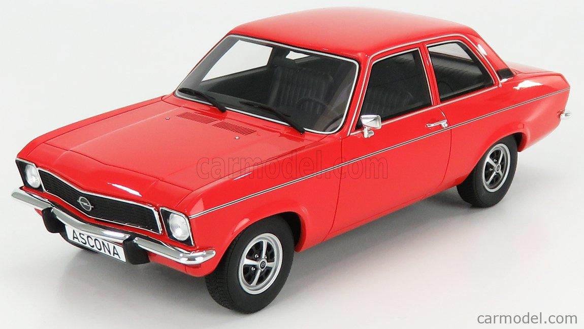 BoS-MODELS BOS403 Echelle 1/18  OPEL ASCONA A 1973 RED