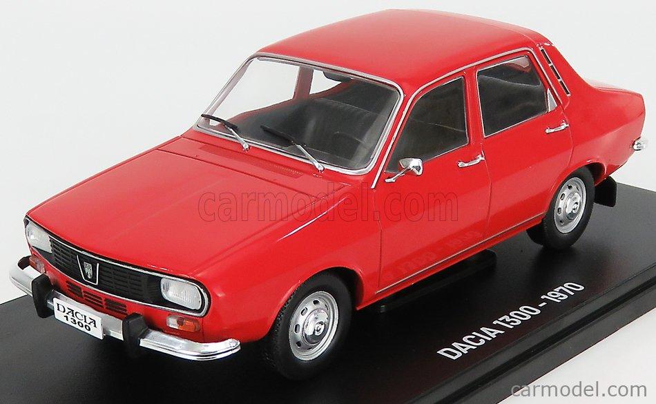 EDICOLA ABACR901 Echelle 1/24  DACIA 1300 1970 (RENAULT R12) RED