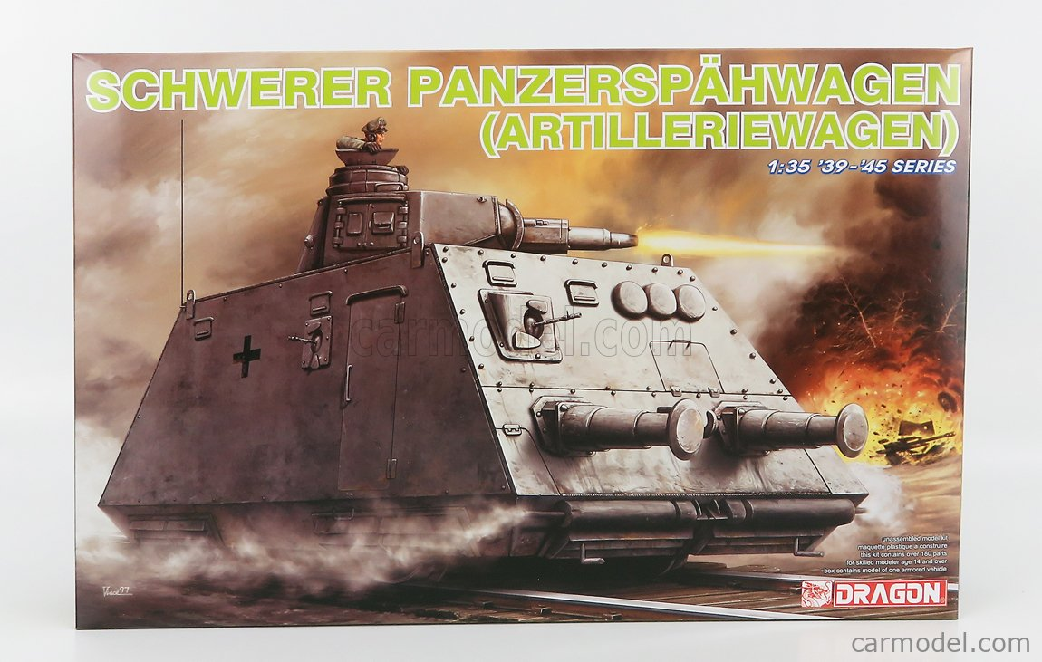 DRAGON ARMOR 6073 Echelle 1/35  TANK SCHWERER PANZERSPAHWAGEN MILITARY 1945 /