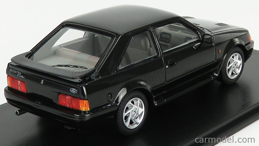 NEO SCALE MODELS NEO44952 Масштаб 1/43  FORD ENGLAND ESCORT MK4 RS TURBO 1986 BLACK