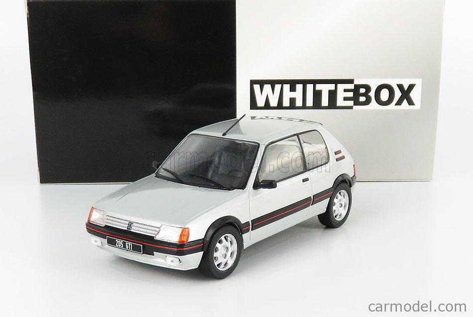 WHITEBOX WB124063 Scale 1/24  PEUGEOT 205 GTi 1.9 1988 SILVER