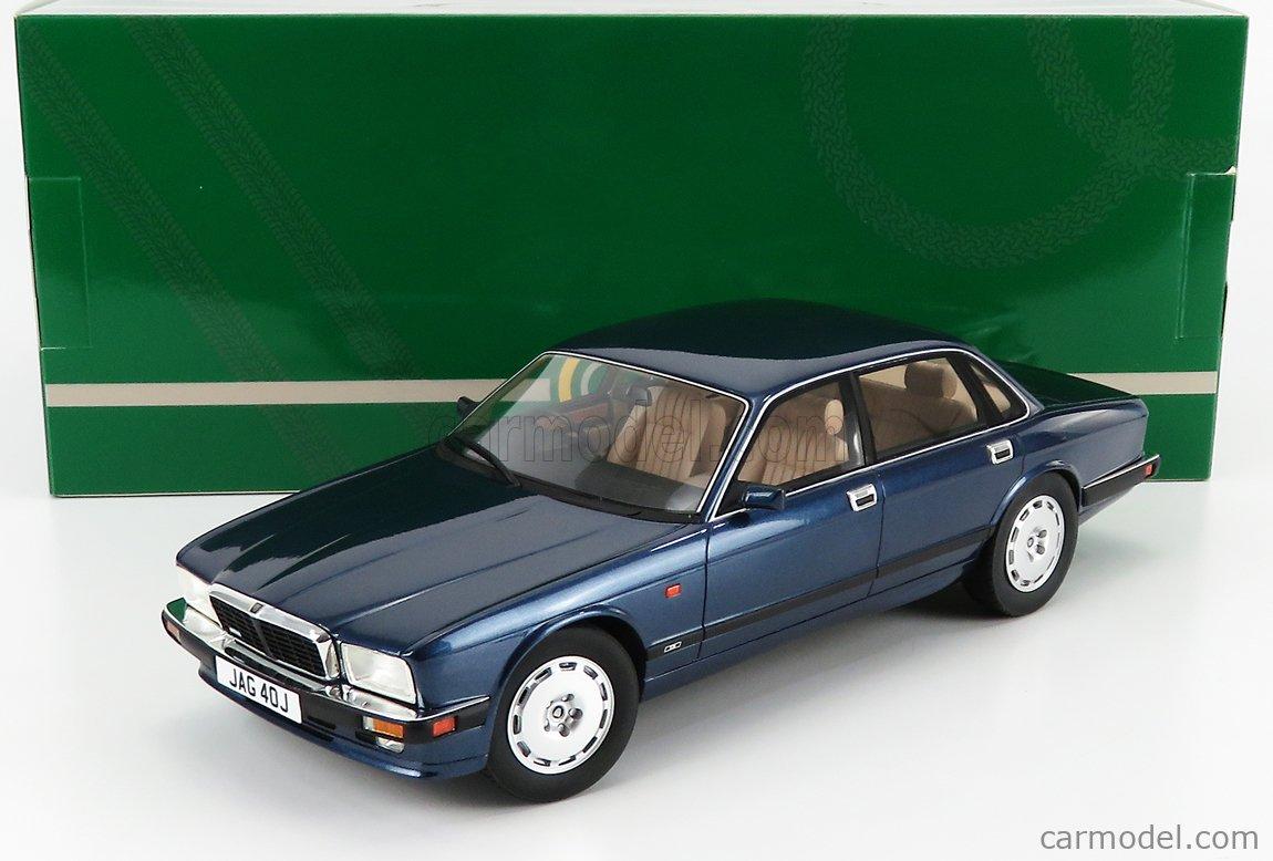 CULT-SCALE MODELS CML007-3 Scale 1/18  JAGUAR XJR XJ40 RHD 1990 SOLENT BLUE MET
