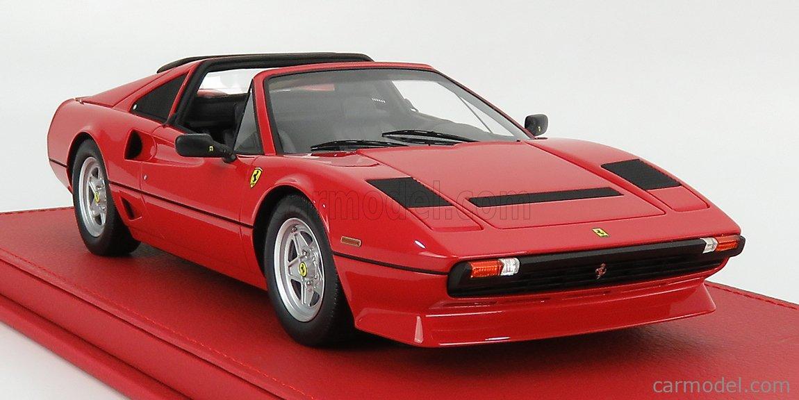 BBR-MODELS P18142G Scale 1/18  FERRARI 208 GTS TURBO SPIDER 1983 ROSSO CORSA 322 - RED