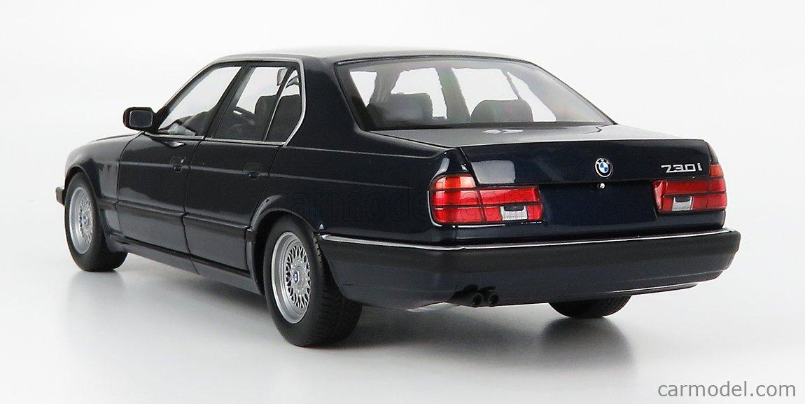 MINICHAMPS 100023006 Scale 1/18  BMW 7-SERIES 730i (E32) 1986 BLUE MET