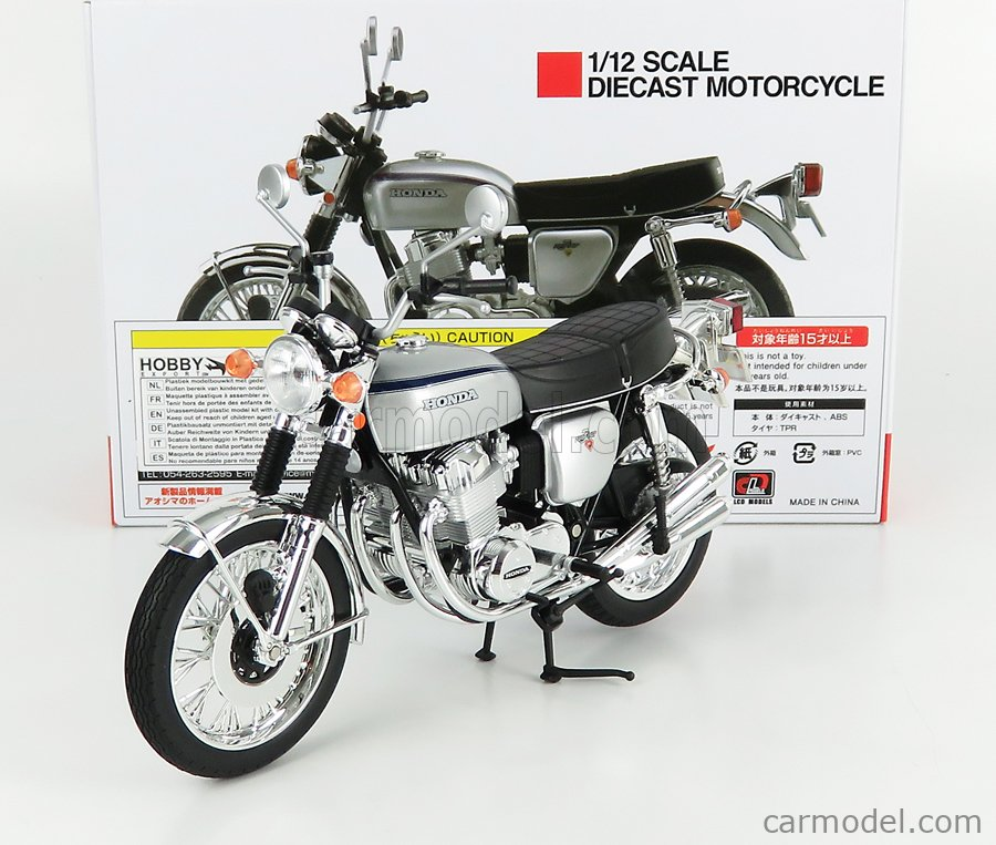 LCD-MODEL LCD106587 Echelle 1/12  HONDA CB750 FOUR K2 1972 SILVER