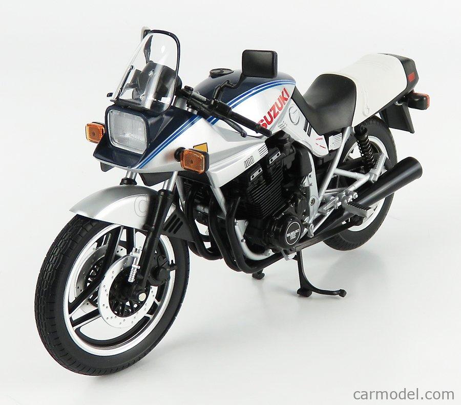 LCD-MODEL LCD105245 Masstab: 1/12  SUZUKI GSX 1100S KATANA 1980 SILVER BLUE