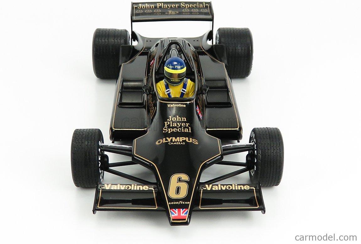 MCG MCG18605 Echelle 1/18  LOTUS F1  79 JOHN PLAYER SPECIAL N 6 WINNER AUSTRIA GP 1978 RONNIE PETERSON BLACK
