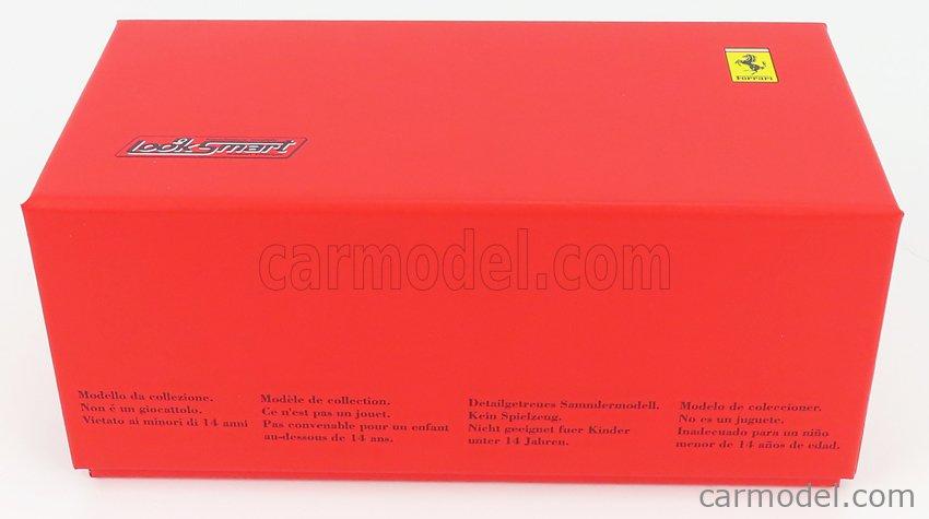 LOOKSMART LSLM110 Scale 1/43  FERRARI 488 GTE EVO 3.9L TURBO V8 TEAM AF CORSE N 54 24h LE MANS 2020 F.CASTELLACCI - G.FISICHELLA - T.FLOHR SILVER RED