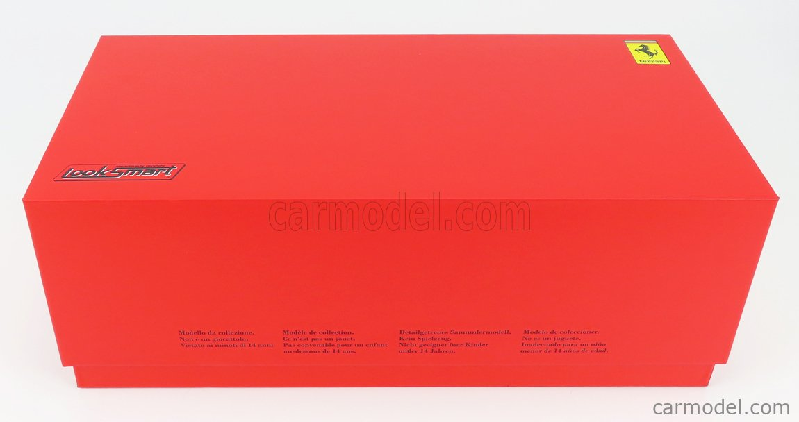 LOOKSMART LS18RC013 Scale 1/18  FERRARI 488 GT3 EVO 2020 RED WHITE