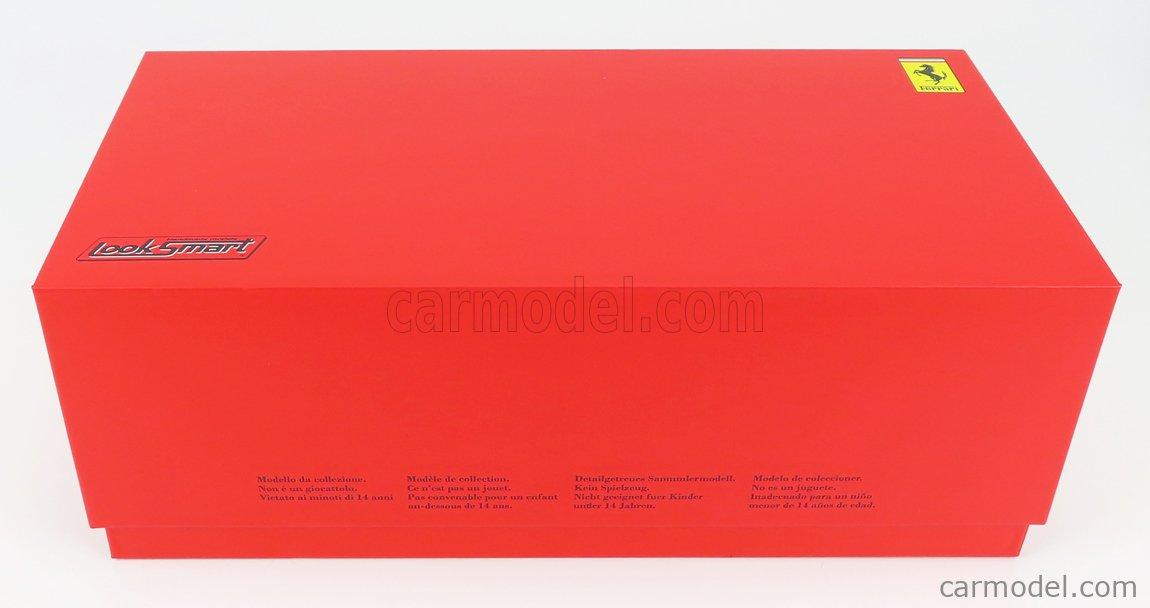 LOOKSMART LS18LM023 Scale 1/18  FERRARI 488 GTE EVO 3.9L TURBO V8 TEAM AF CORSE N 51 2nd LMGTE PRO CLASS 24h LE MANS 2020 J.CALADO - A.PIER GUIDI - S.SERRA RED WHITE BLUE