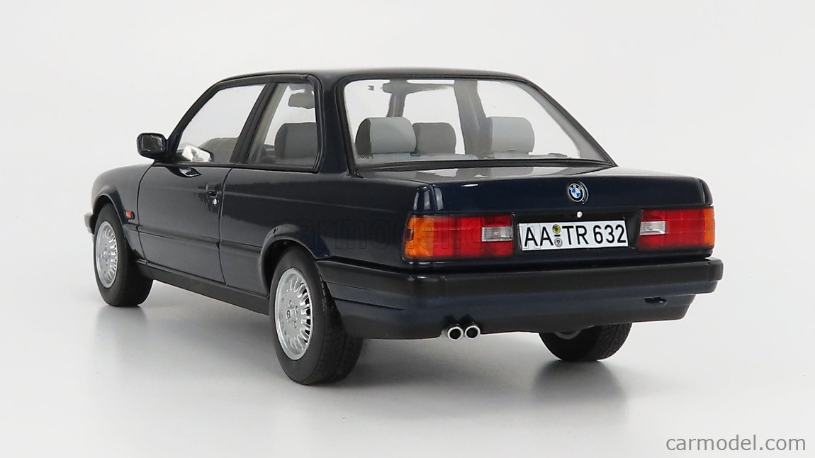 NOREV 183201 Scale 1/18  BMW 3-SERIES 325i (E30) 1988 BLUE MET