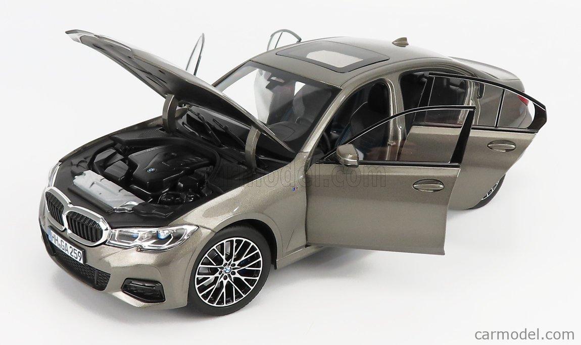NOREV 183275 Scale 1/18  BMW 3-SERIES (G20) 330i 2019 GREY MET