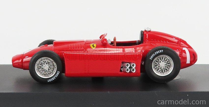 BRUMM R076-UPD-2021 Scale 1/43  FERRARI F1  LANCIA D50 N 1 BRITISH GP JUAN MANUEL FANGIO 1956 WORLD CHAMPION RED
