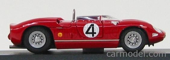ART-MODEL ART155 Echelle 1/43  FERRARI 250P N 4 MONSPORT 1963 SURTEES RED