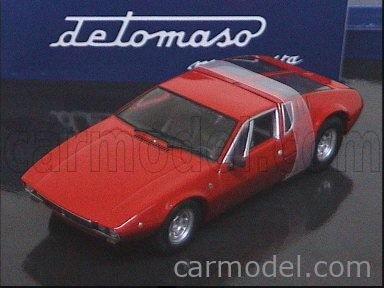 Minichamps De Tomaso Mangusta 1969 Bleu Voiture Modèle 436 127122