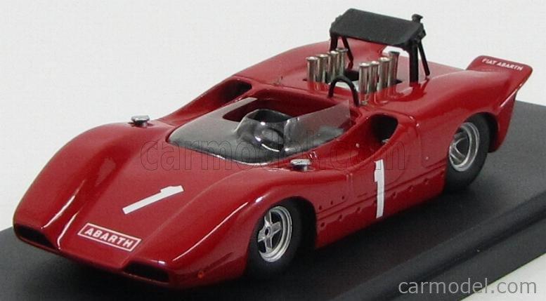 PINKO PI136 Scala 1/43  FIAT ABARTH 3000 N 1 RACE INNSBRUCK 1968 RED