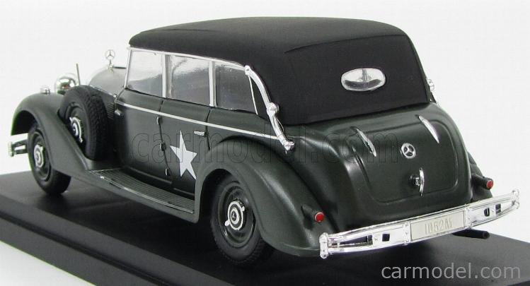 RIO-MODELS 4154 Scale 1/43  MERCEDES BENZ 770 LIMOUSINE USA ARMY 1945 MILITARY GREEN