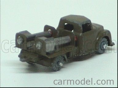 AHI-JAPAN / Echelle 1/90  TRUCK TRUCK WITH TWO ROCKETS MILITARY GREEN