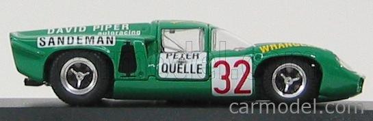 BEST-MODEL 9295 Scale 1/43  LOLA T70 COUPE N 32 ZELTWEG 1969 PIPER - QUESTER GREEN
