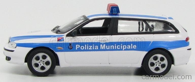 HONGWELL CA9170ARM Scale 1/43  ALFA ROMEO 156 SW POLIZIA MUNICIPALE 2000 WHITE BLUE