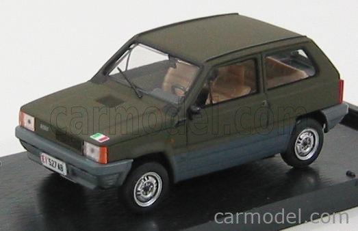 BRUMM R394B Echelle 1/43  FIAT PANDA 45 ESERCITO ITALIANO 1980 MILITARY GREEN
