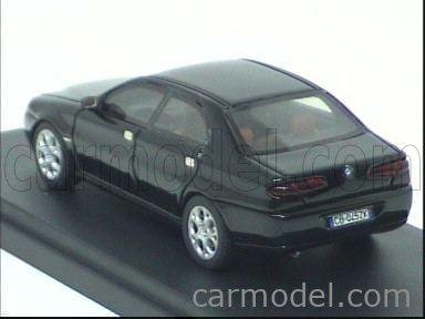 BONINI 169-BLACK Scale 1/43  ALFA ROMEO 166 RESTYLING 2005 BLACK
