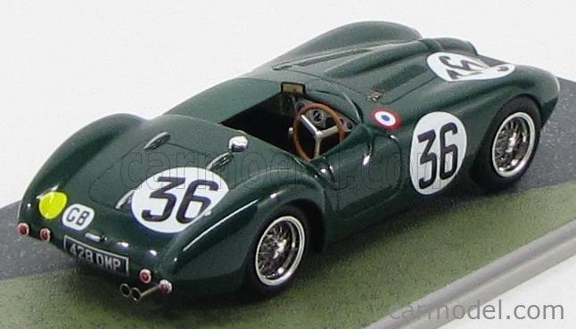 BIZARRE BZ210 Masstab: 1/43  FRAZER NASH SEBRING N 36 LE MANS 1955 BRITISH RACING GREEN