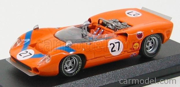 BEST-MODEL 9333 Scale 1/43  LOLA T70 SPIDER N 27 FUJI 1968 T.SAKAI ORANGE