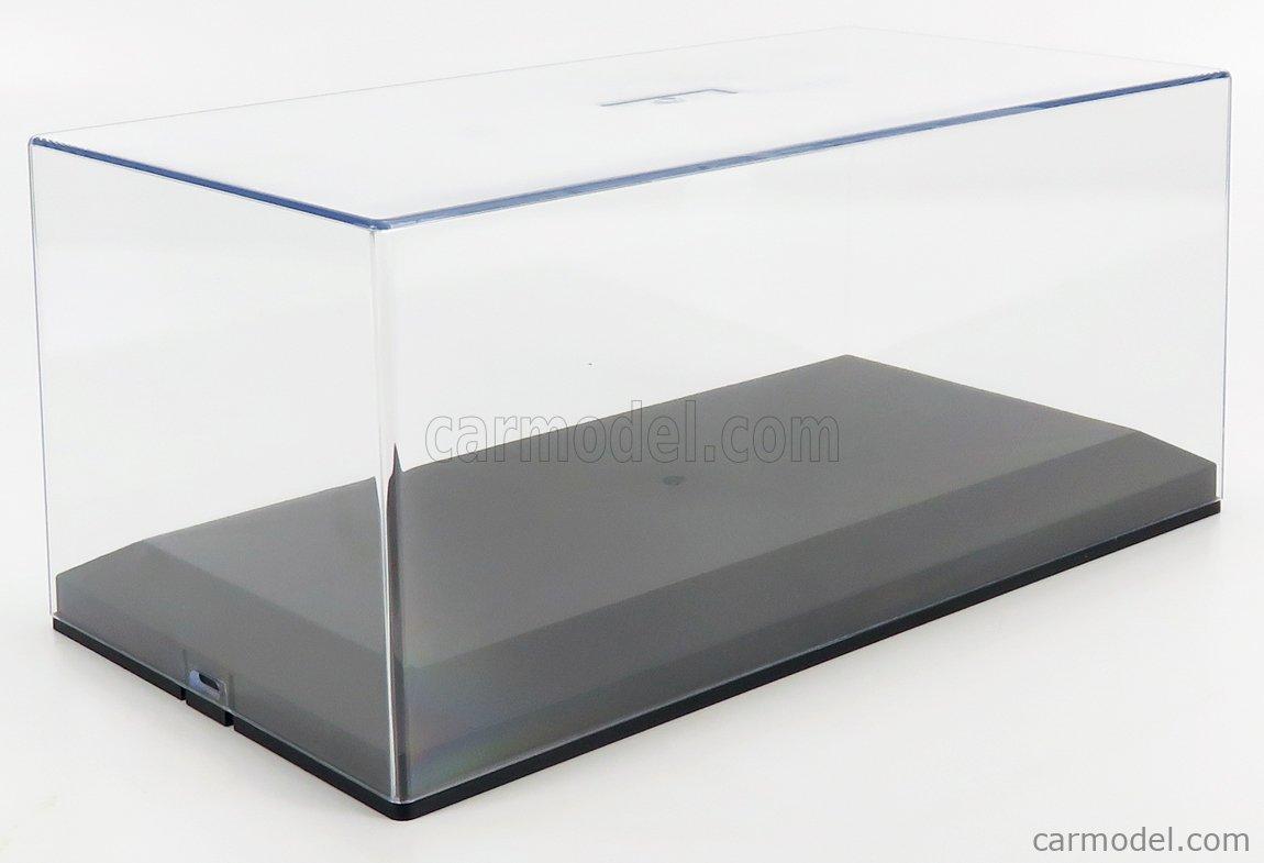 VETRINA DISPLAY BOX PG052 Masstab: 1/18  VETRINA DISPLAY BOX Lungh.cm 30.5 X Largh.cm 16 X Alt.cm 13.5 (altezza interna cm 10.5) PLASTIC DISPLAY