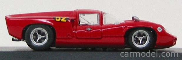 BEST-MODEL 9337 Scale 1/43  LOLA T70 COUPE N 52 BUENOS AIRES 1970 PROPHET - PASQUALINI RED