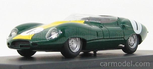 PINKO PI162 Masstab: 1/43  LISTER JAGUAR COSTIN N 1 SPIDER LE MANS 1959 BRITISH RACING GREEN