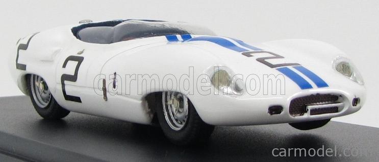 PINKO PI164 Masstab: 1/43  LISTER JAGUAR COSTIN CUNNINGHAM N 2 SEBRING 1959 WHITE