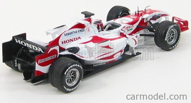 MINICHAMPS 400060224 Echelle 1/43  SUPER AGURI F1  SA06 N 1 SAF1 & ARTA FESTA 2006 A.SUZUKI WHITE RED