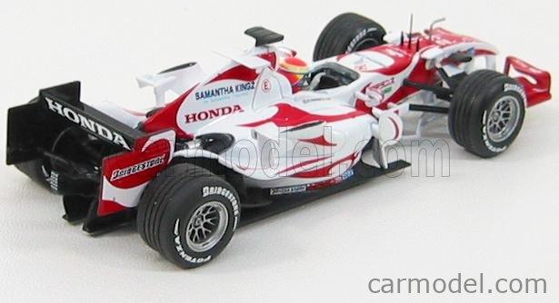 MINICHAMPS 400060223 Echelle 1/43  SUPER AGURI F1 SA06 N 23 2006 S.YAMAMOTO RED WHITE